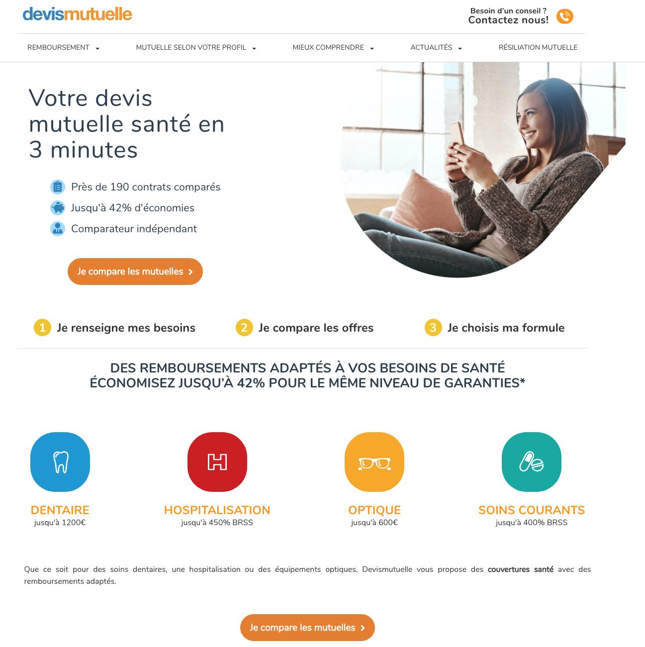 www.devismutuelle.com